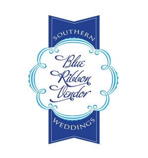 Featured in Southern Weddings Blue ribbon Vendor Amalie Orrange Photography
