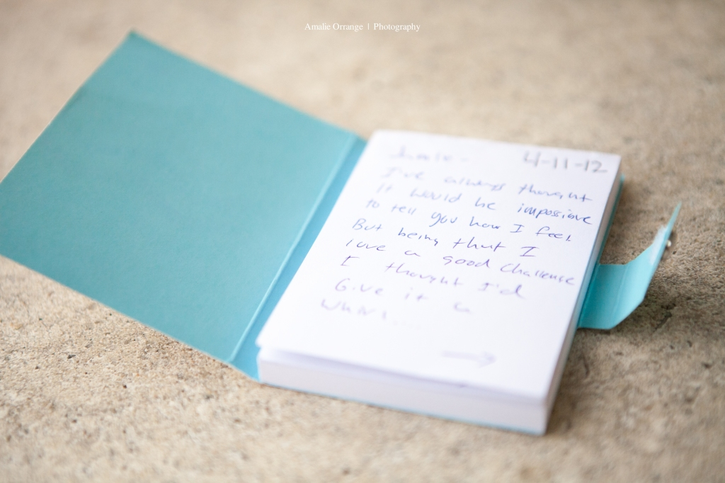 Engagement Proposal note book