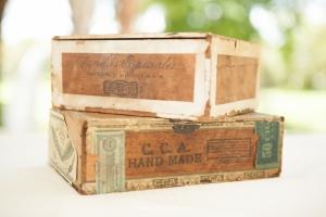 cigar boxes wedding