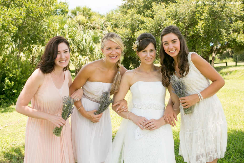 bridesmaids bohemian lavender