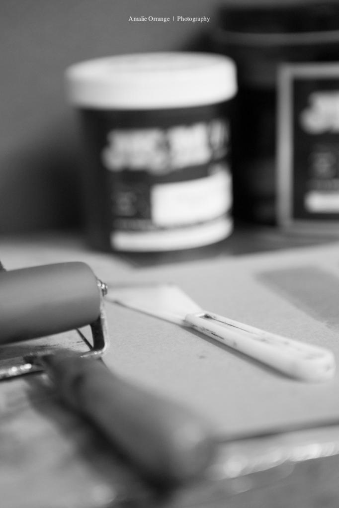 Ink for press printer