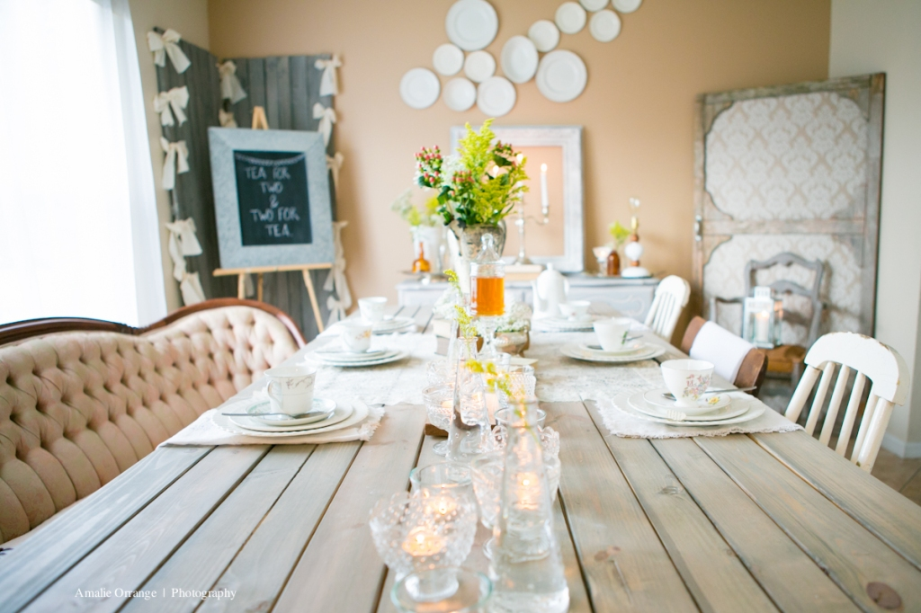 wedding vintage table setting
