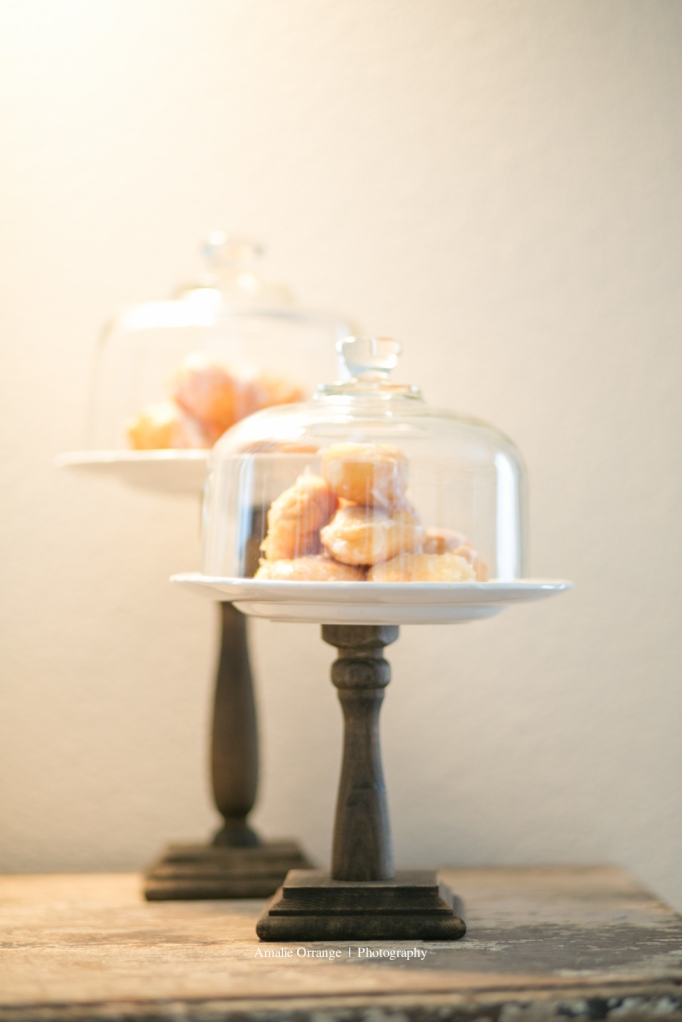 wedding donuts styled