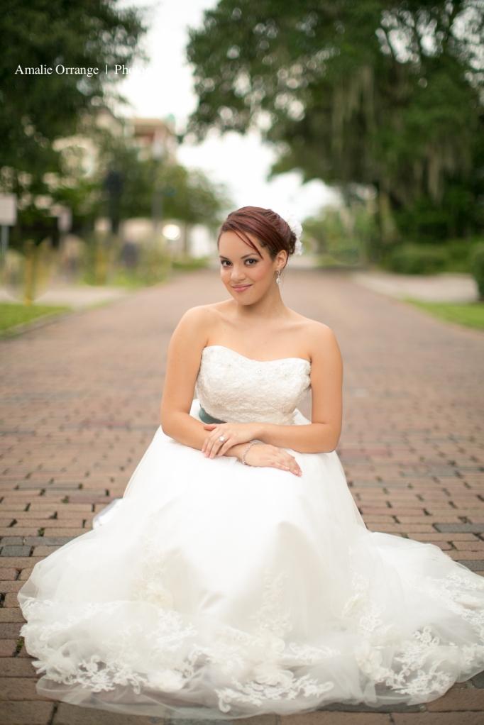Bride in Winter park Florida
