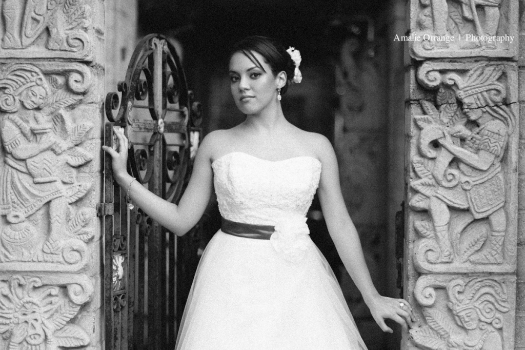 Bride at Maitland art center