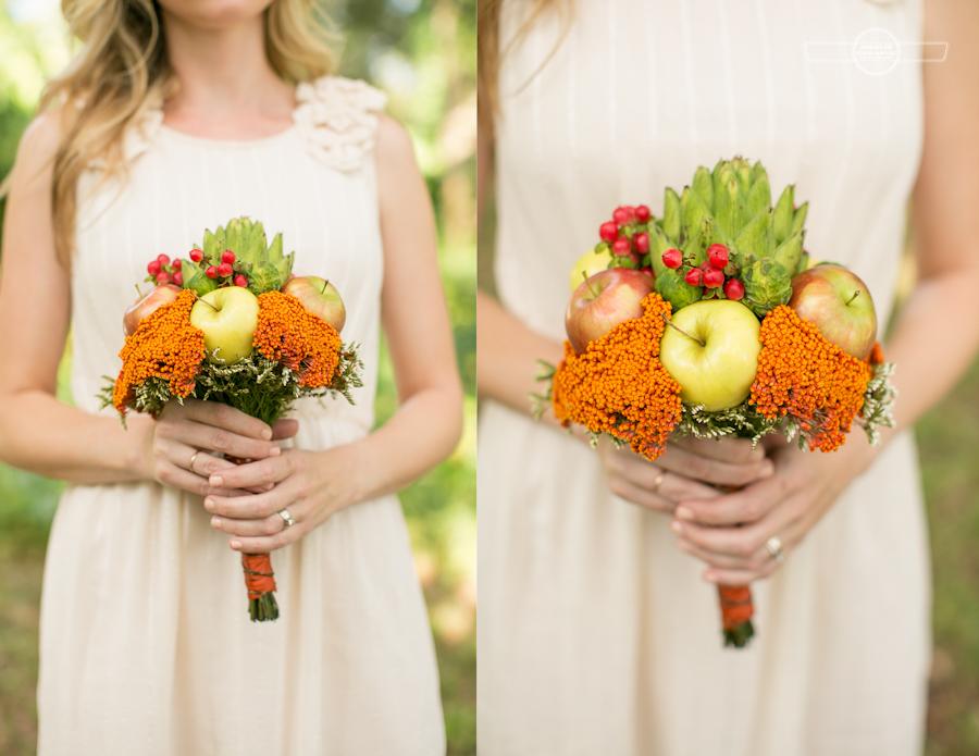 Organic bouquet wedding artichoke