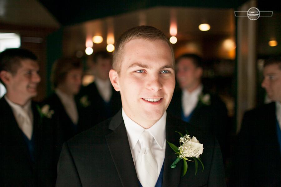 Groom with groomsmen