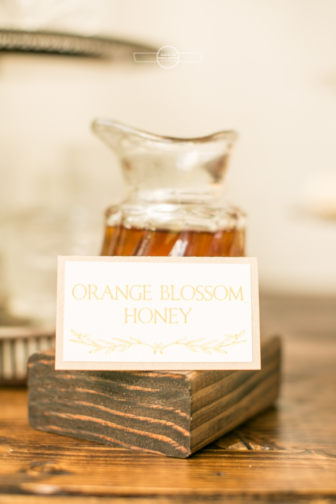 Honey jar for southern wedding