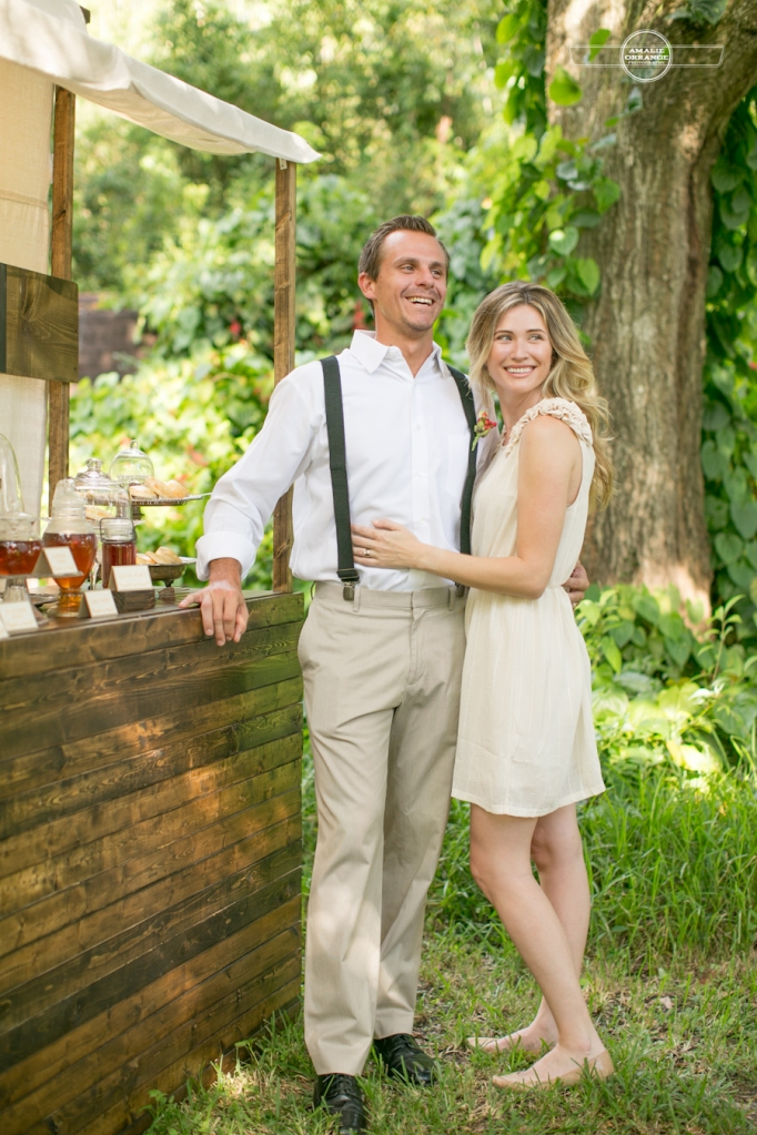 Biscuit and honey bar southern weddings