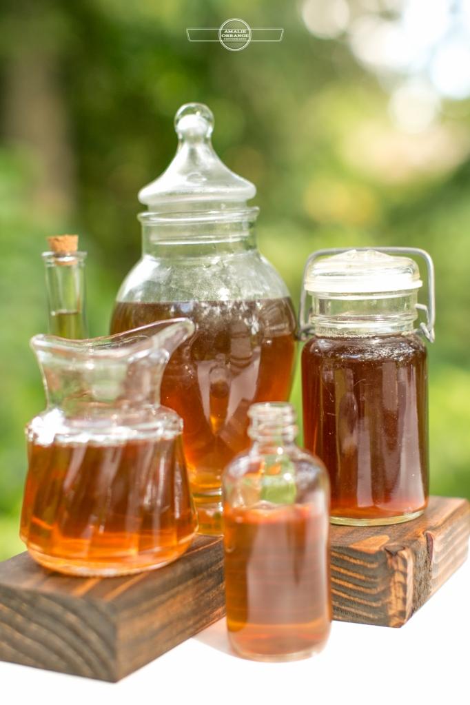 Honey wedding jars
