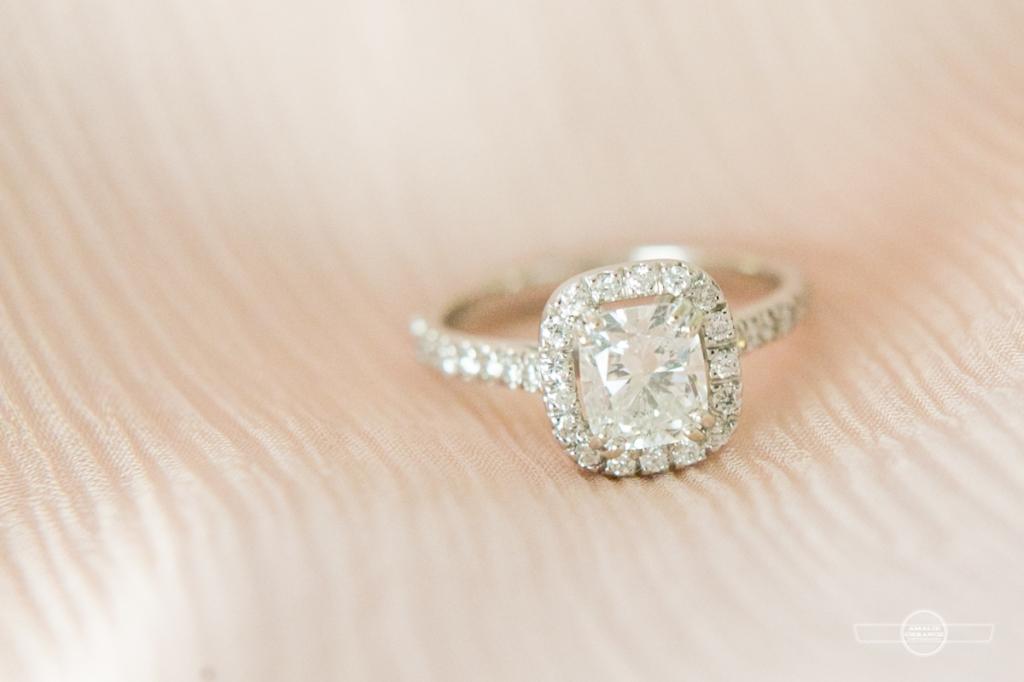 florida beach wedding diamond ring