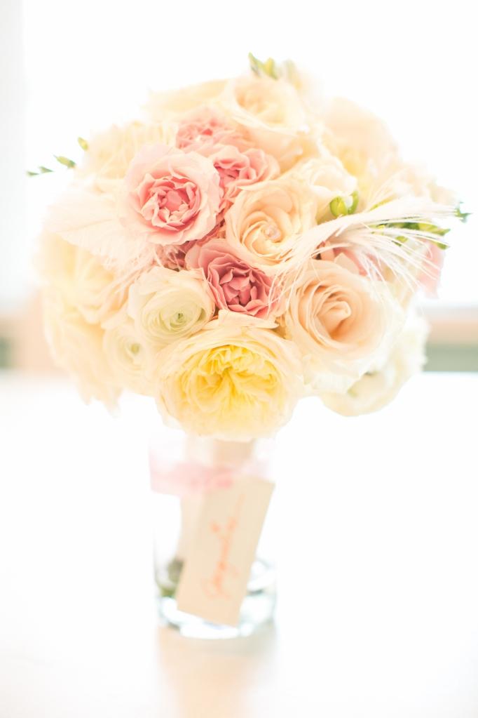 Florida beach wedding  bridal bouquet