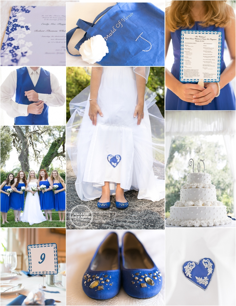 Blue wedding inspiration, royal blue heart, lace, shoes,