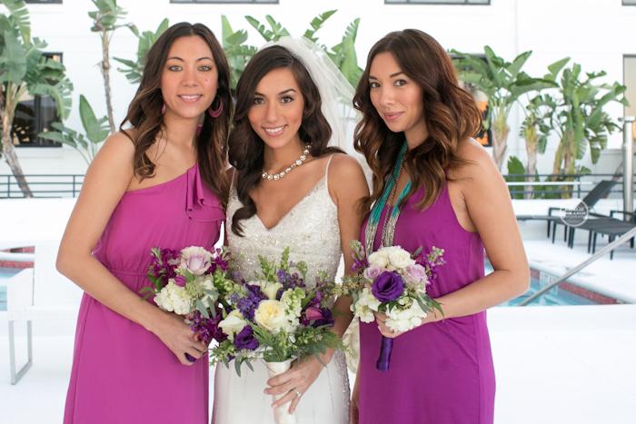 Bridesmaids at Grand Bohemian