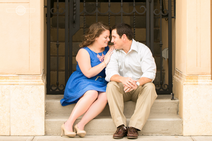Winter Park engagement | Amalie Orrange