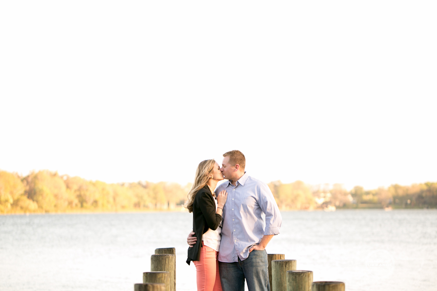 4 Winter Park Engagement by the dock