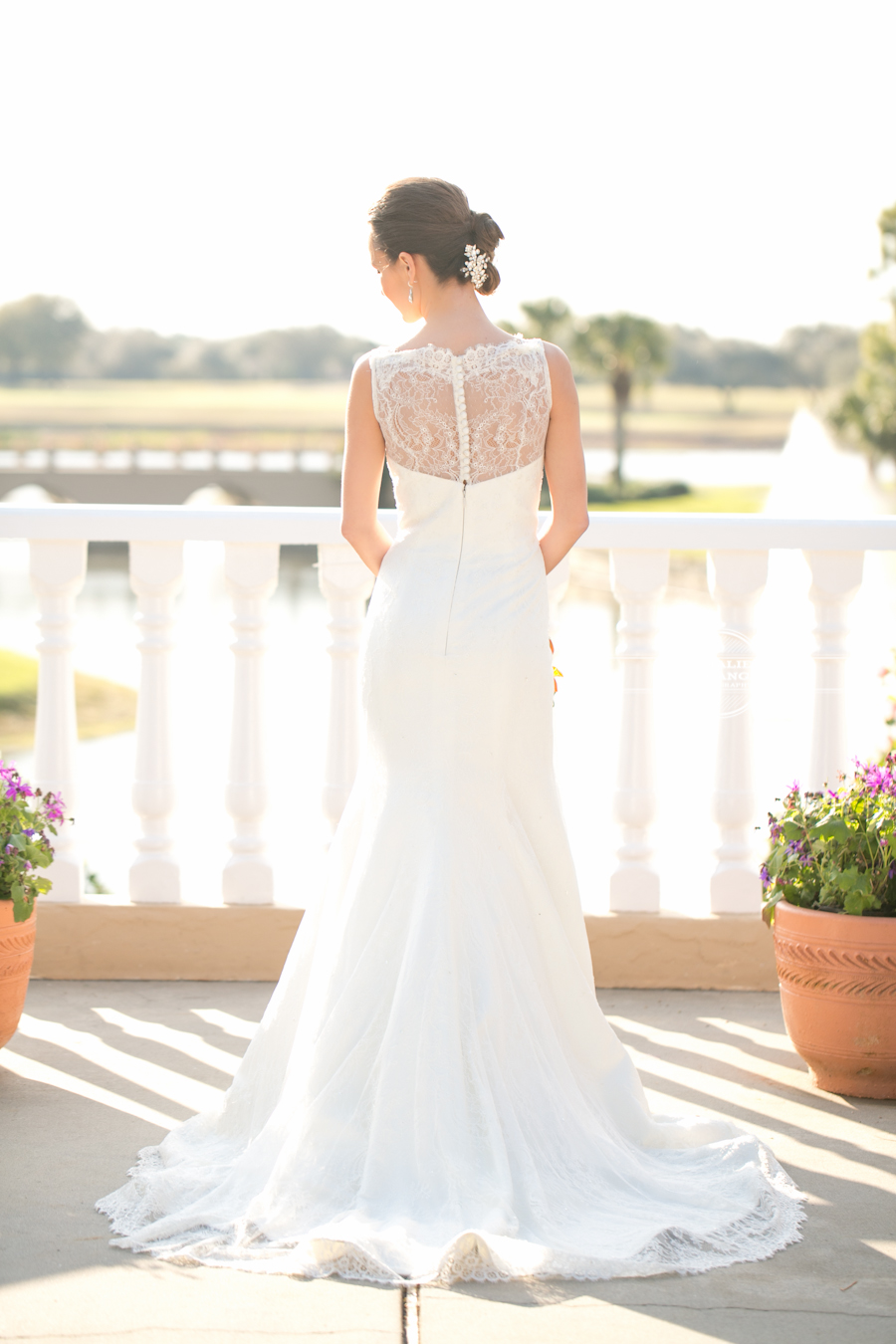 bride at Mission Inn wedding