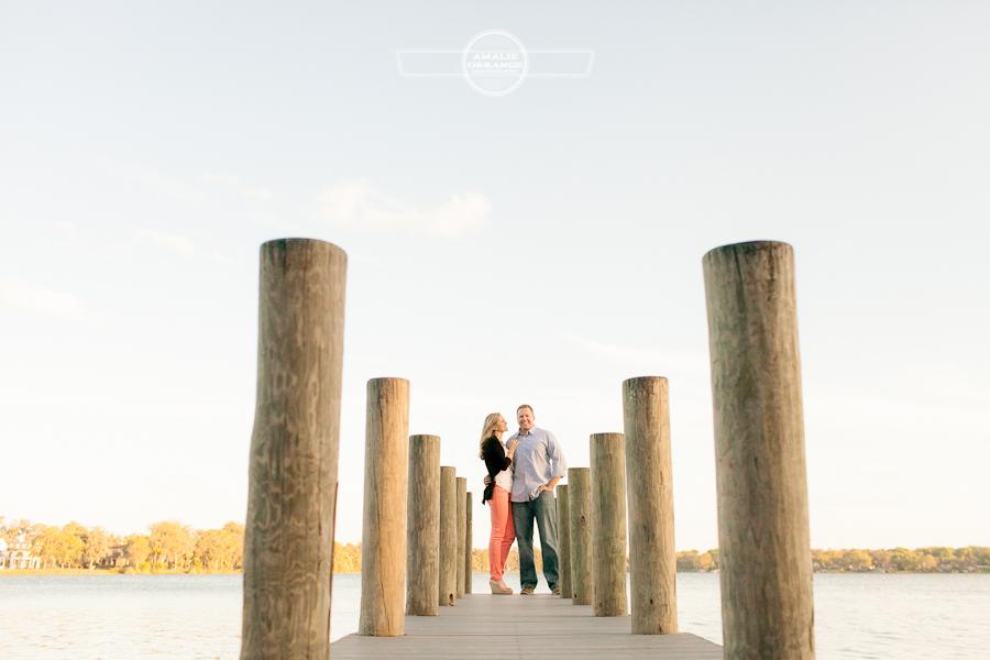 9 Winter Park dock Engagement