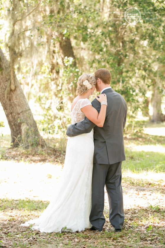 Bride and groom orlando