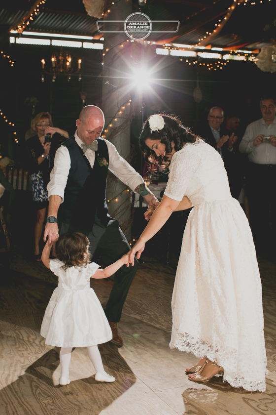 Birdsong barn wedding quirky unique